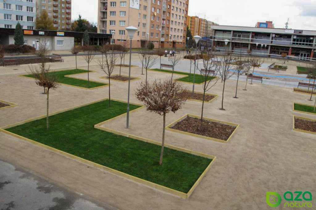 Finální podoba parku v Českých Budějovicích