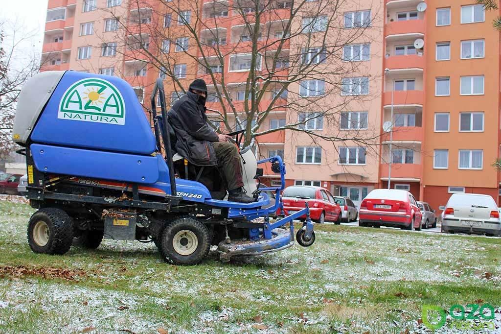 Údržba městských parků